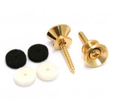 FENDER PURE VINTAGE STRAP BUTTONS GOLD  Oulu