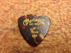 "MARTIN TRIANGLE ""MEDIUM"" Tortoise pick  Oulu"