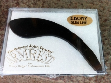 JOHN PEARSE EBONY SLIMLINE ARMREST