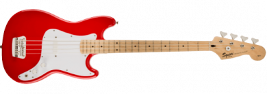 SQUIER AFFINITY SERIES™ BRONCO™ BASS, TORINO RED