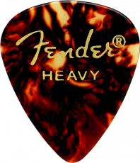 Fender Tortoise Shell, 351 Shape, Heavy (12) Oulu