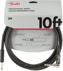 FENDER Professional Series Instrument Cables, 10ft, Oulu