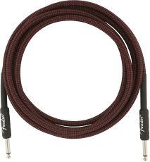 FENDER Professional Series Instrument Cables, 10', Red Tweed Oulu kopio 113001