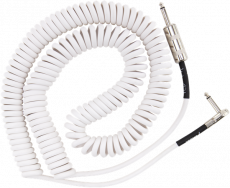 FENDER JIMI HENDRIX VOODOO CHILD COILED CABLE 3OFT WHITE Oulu
