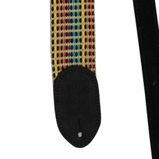 "Martin Acoustic Strap 2"" Woven, Black Leather Ends 18A0066 Oulu"