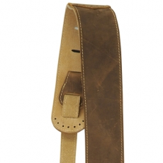 Martin Acc.Strap, Leather Wing Tip, Lite Brown Inset 18A0078