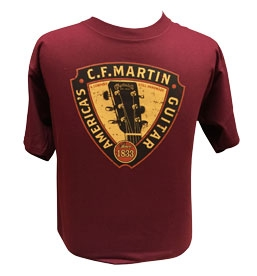 T-shirt with Headstock on Front