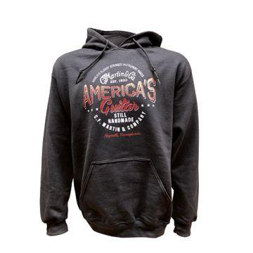 Martin America's Guitar Hoodie  Item No. 18CM0136