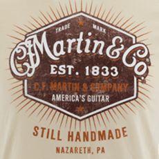 """Martin """"Still Handmade"""" Tee  Item No. 18CM0148"""
