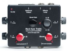 RED-EYE TWIN PREAMP w/Microphone Phantom Power Modification Oulu