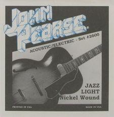 John Pearse 2600 Jazz Light Oulu