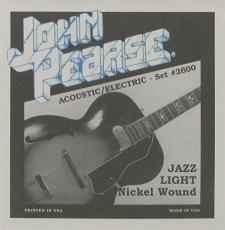 John Pearse 2600 Jazz Light