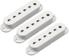 White Strat Pickup Cover Set