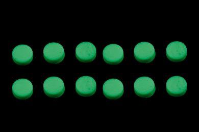 Glow-in-the-dark 6.35 mm Fretboard Dots