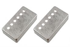 49.2mm Humbucking Pickup Cover Set, Antique Nickel