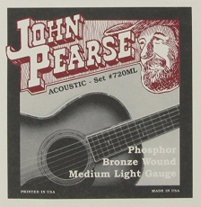 John Pearse 720ML Medium Light