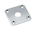 Chrome Jackplate for Les Paul Oulu