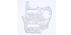 White Pearloid Pickguard for Jaguar®