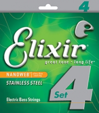 ELIXIR BASS STRINGS 045-105 LIGHT/MEDIUM 14077 Oulu
