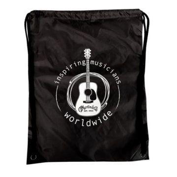 Martin Drawstring Backpack (Black) Oulu