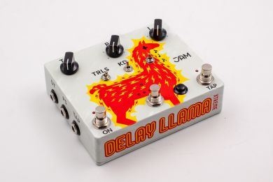 JAM PEDALS DELAY LLAMA XTREME Analog delay w/ Tap Tempo, HOLD function, Trails Effects and Presets