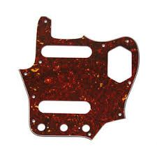 Red Tortoise Pickguard for Jaguar®