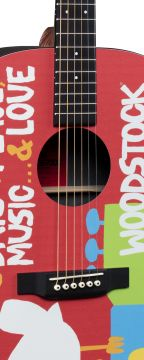Martin DX WOODSTOCK 50th Guitar