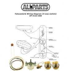 Wiring Kit for Telecaster® 4-Way Switch