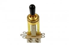 Switchcraft Straight Toggle Switch Gold  Oulu