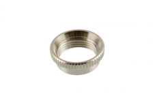 Deep Round Nut for Switchcraft, Nickel