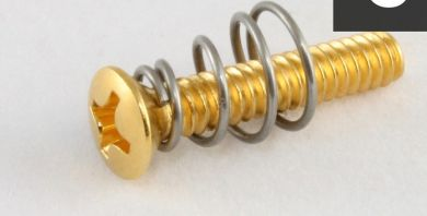 Gold Countersunk Pickup Mounting Screw for Strat