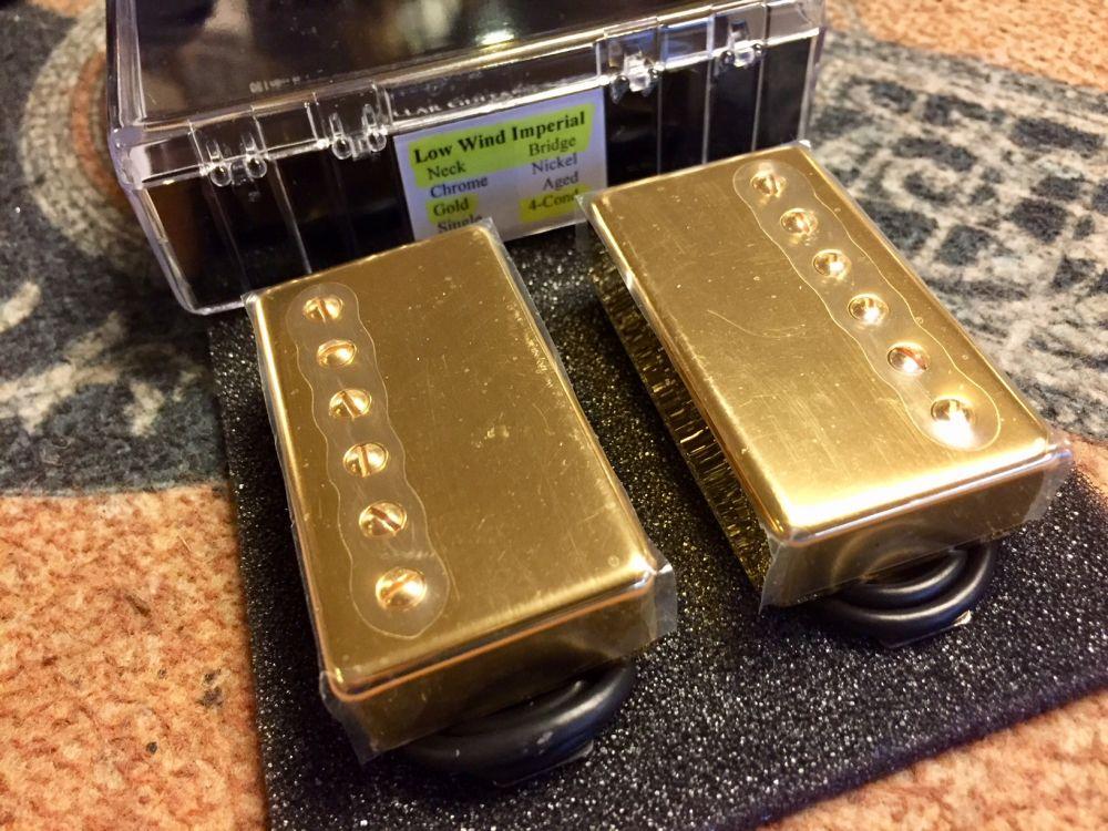 LOLLAR LOW WIND IMPERIAL SET, GOLD - Kitarapaja