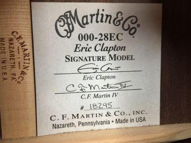 MARTIN 000-28EC 2012