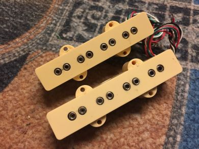 DIMARZIO DP123 JBASS SET