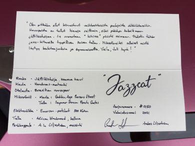 """ANDERS LILJESTRÖM ESSENTIAL T """"JAZZCAT"""""""