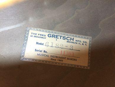 GRETSCH 6182-3 CORVETTE 1954