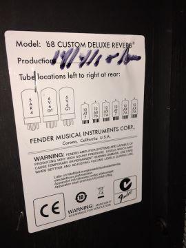 FENDER ´68 CUSTOM DELUXE REVERB