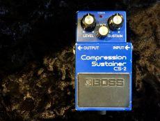 BOSS CS-2 COMPRESSION SUSTAINER 1983