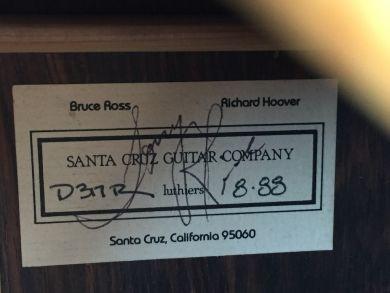 SANTA CRUZ TONY RICE PROFESSIONAL 1988