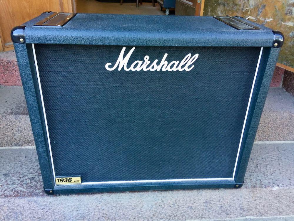 marshall 1936 2x12 cabinet 2004 kitarapaja. Black Bedroom Furniture Sets. Home Design Ideas