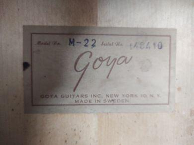 GOYA M-22 1963
