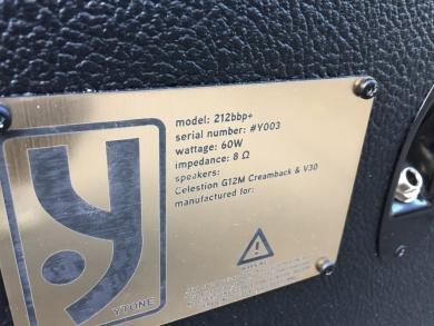 Y-TONE 212BBP+ DEMO CABINET