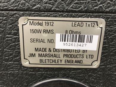 MARSHALL 1912 LEAD 1X12
