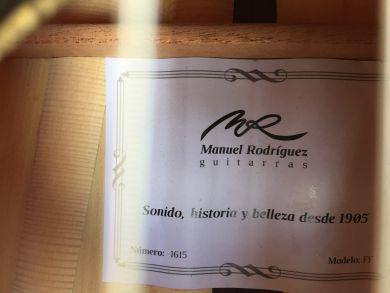 MANUEL RODRIGUEZ FF FLAMENCO CLASSICAL