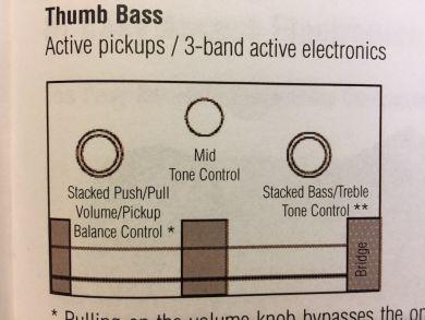 WARWICK MASTERBUILT THUMB BASS 5-STG 2016, Lefthanded
