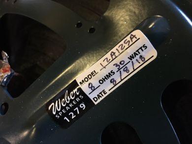 """WEBER 12A125A 12"""""""