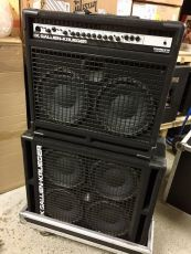 GALLIEN-KRUEGER 700RB/210 + 410RBH BASS STACK W/FLIGHT CASES