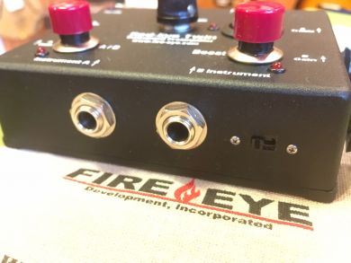 RED-EYE TWIN PREAMP w/Microphone Phantom Power Modification