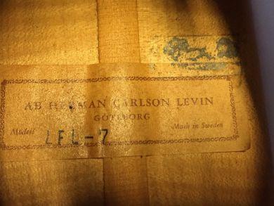 LEVIN LFL 7 FLAMENCO GUITAR 1964