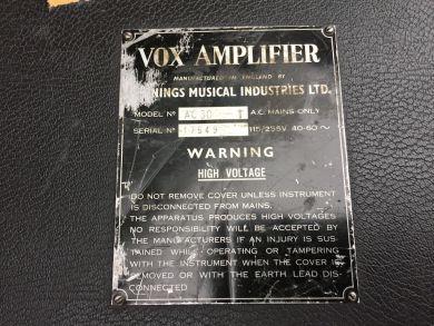 VOX AC-30 COMBO 1965